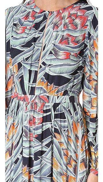 Mara Hoffman Deep Keyhole Dress