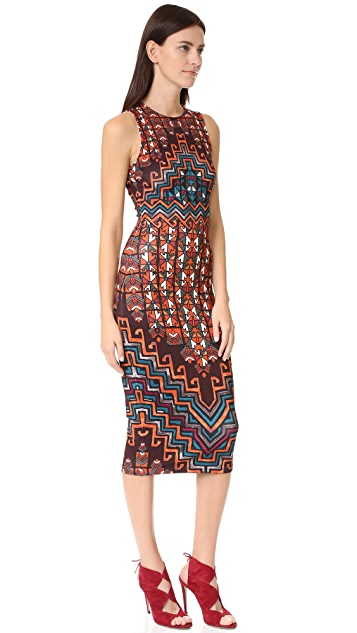 Mara Hoffman Bolnisi Rug Midi Dress