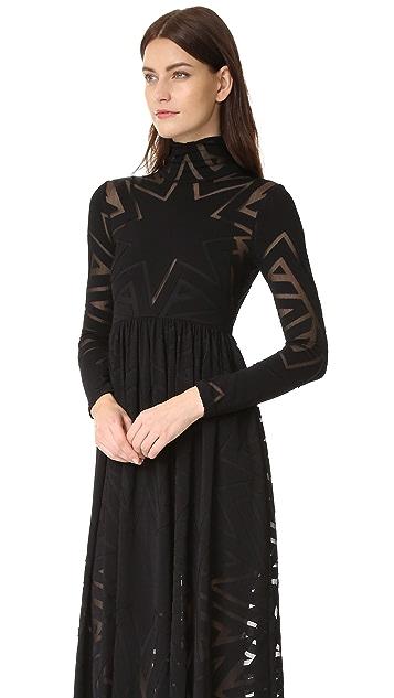 Mara Hoffman Burnout Dress