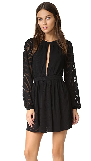 Mara Hoffman Burnout Mini Dress