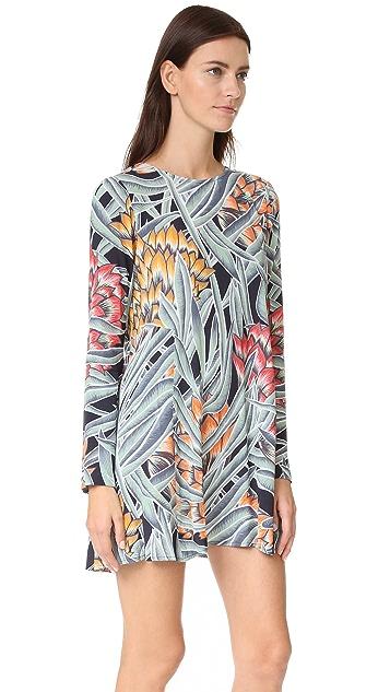 Mara Hoffman Long Sleeve Swing Dress