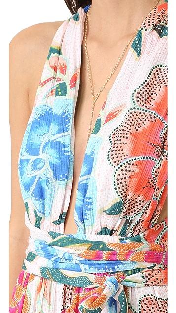 Mara Hoffman Crinkle Crepe Jumpsuit