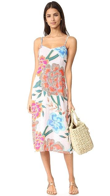 Mara Hoffman Crinkle Crepe Slip Dress