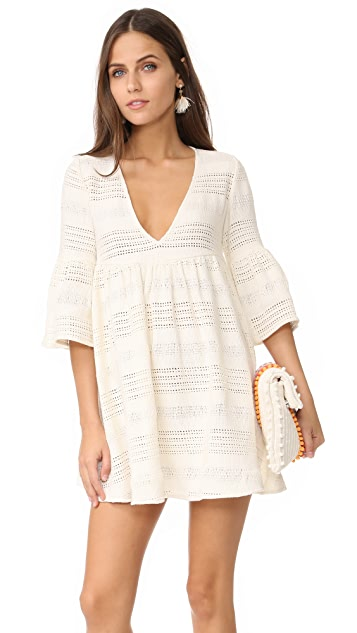 Mara Hoffman Cover Up Mini Dress