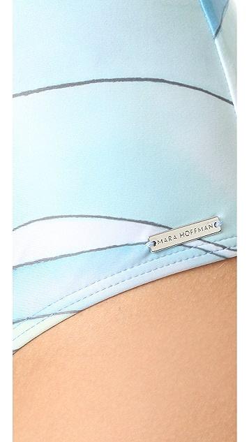 Mara Hoffman Knot Front Swimsuit