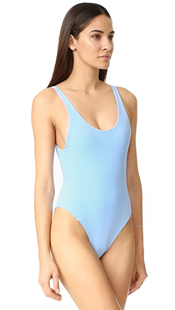 Mara Hoffman Low Back Swimsuit