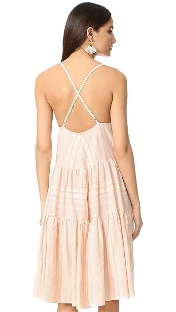 Mara Hoffman Tiered Dress
