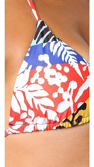 Mara Hoffman String Tie Bikini Top