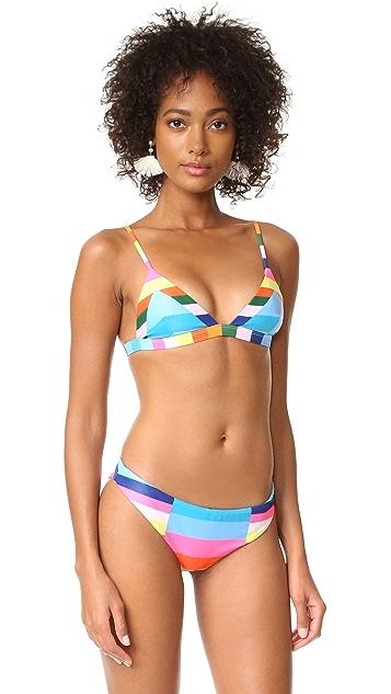 Mara Hoffman Classic Reversible Bikini Bottoms