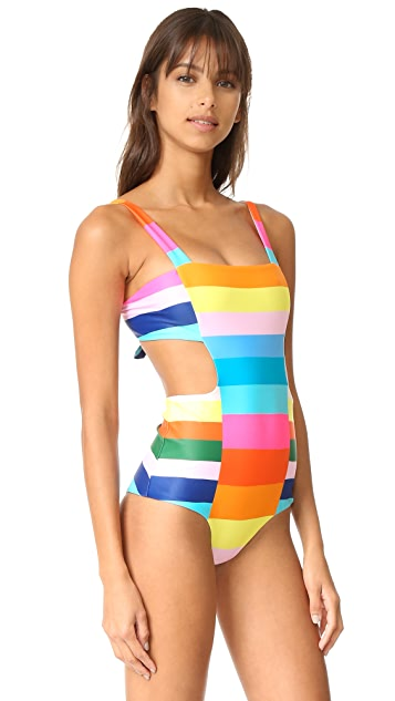 Mara Hoffman Cutout Side Swimsuit
