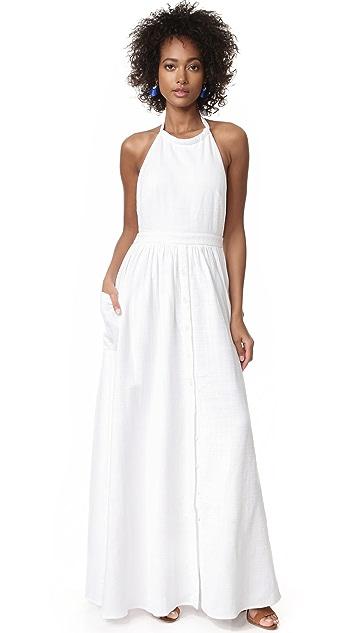 Mara Hoffman Cotton Backless Dress
