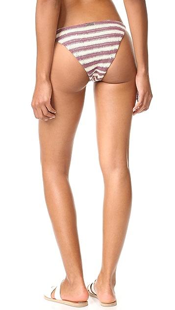Mara Hoffman Crochet Tie Side Bikini Bottoms