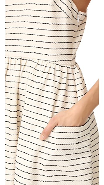 Mara Hoffman Dress with Patch Pockets
