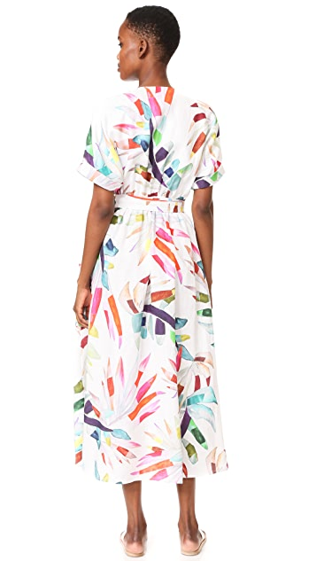 Mara Hoffman Maxi Wrap Dress