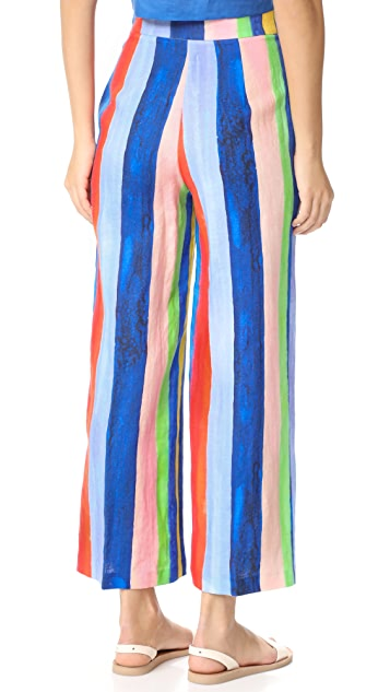 Mara Hoffman High Waisted Tie Front Pants