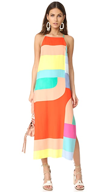 Mara Hoffman Side Slit Midi Dress