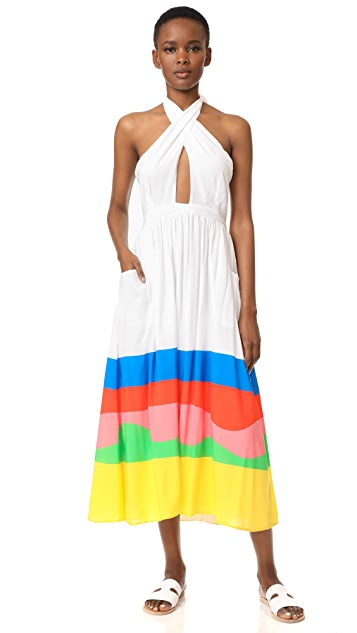 Mara Hoffman Beach Ball Midi Dress