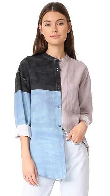 Mara Hoffman Zelda Button Down Shirt