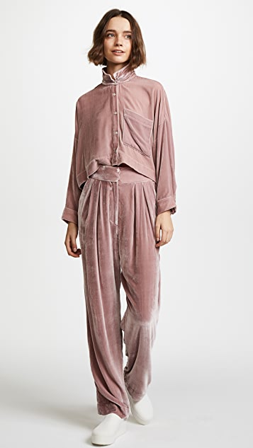 Mara Hoffman Josephine Velvet Pants