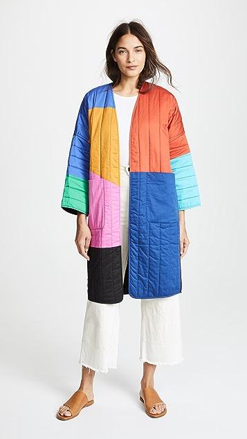 Mara Hoffman Reversible Temple Coat