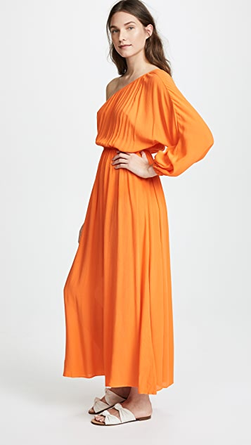Mara Hoffman Orange Vera Dress