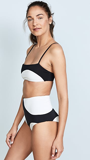 Mara Hoffman Shale Sia Bikini Top