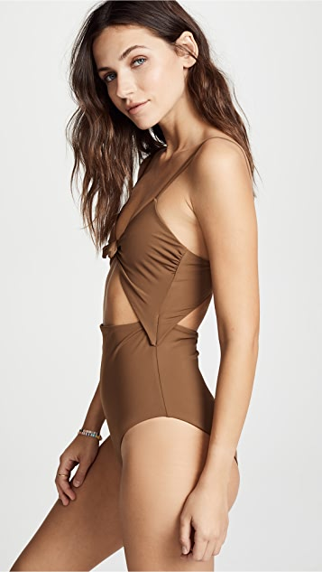 Mara Hoffman Kia One Piece Swimsuit