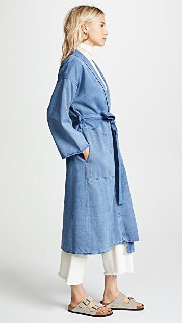 Mara Hoffman Juhi Trench Coat