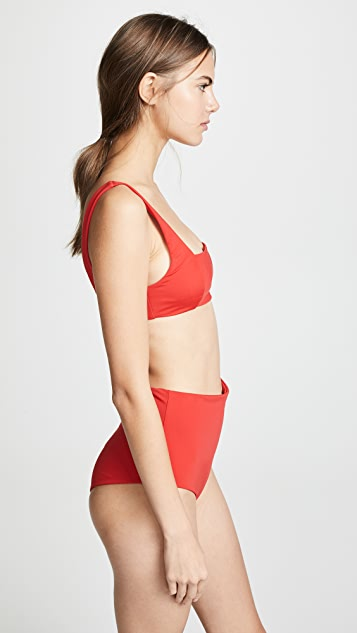 Mara Hoffman Meli Bikini Top