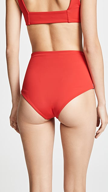 Mara Hoffman Lydia High Waist Bottoms