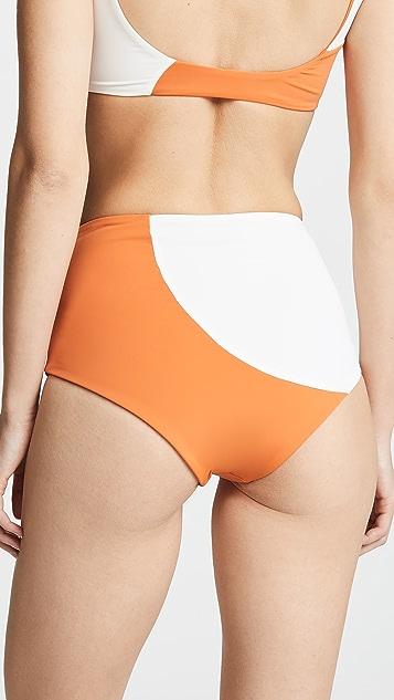 Mara Hoffman Lydia 高腰泳裤