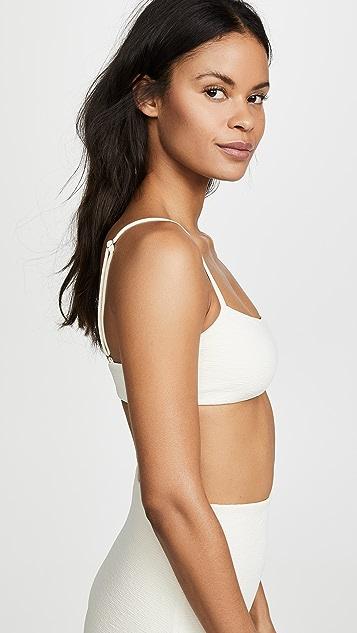 Mara Hoffman Sia Textured Bikini Top