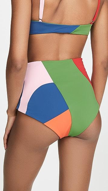 Mara Hoffman Lydia 比基尼泳裤