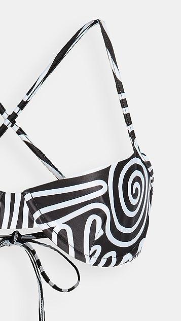 Mara Hoffman Mazlyn Bikini Top