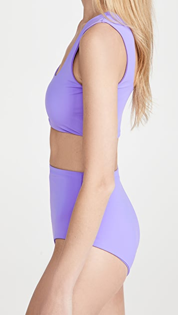 Mara Hoffman Raina Bikini Top
