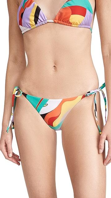 Mara Hoffman Lei Bikini Bottoms