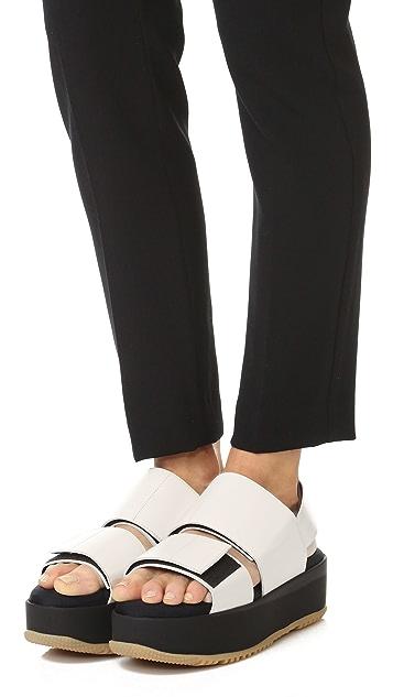 Marni Flatform Sandals