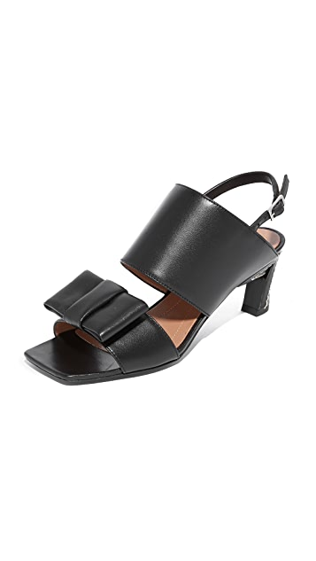 from china Marni Leather Bow-Accented Sandals sale really looking for sale online buy cheap shop offer R3J34t