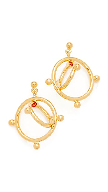 Marni Earrings Double Circles