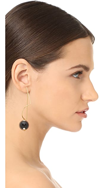 Marni Earrings with Sphere