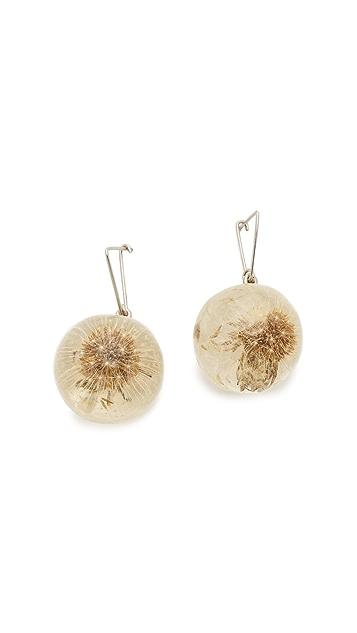 Marni Sphere Earrings - Palladium