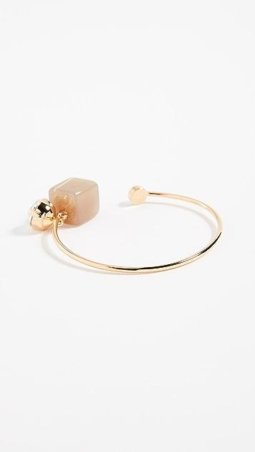 Marni Metal Horn Strass Bracelet