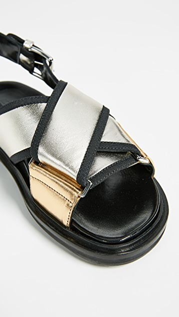 Marni Fusbett Sandals with Buckle