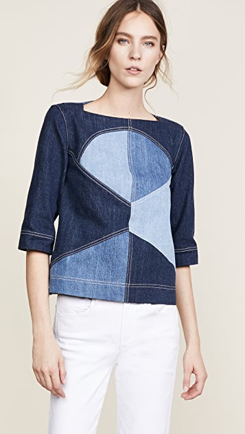 Marni Denim Blouse