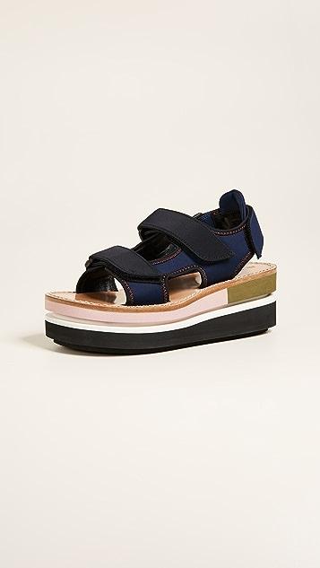 Marni Platform Sandals - Eclipse