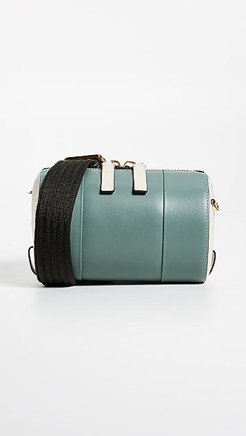 Marni Circular Shoulder Bag - Tea Green/Antique White