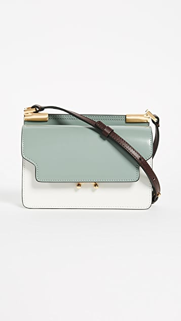 Marni Cross Body Bag - Mercury/Pearl/Eggplant/Brown