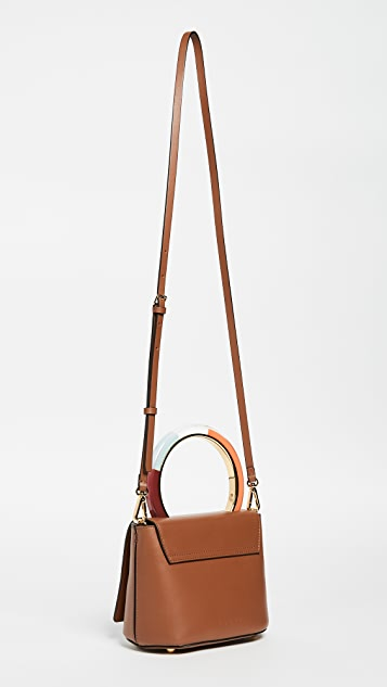 Marni Circle Handle Shoulder Bag