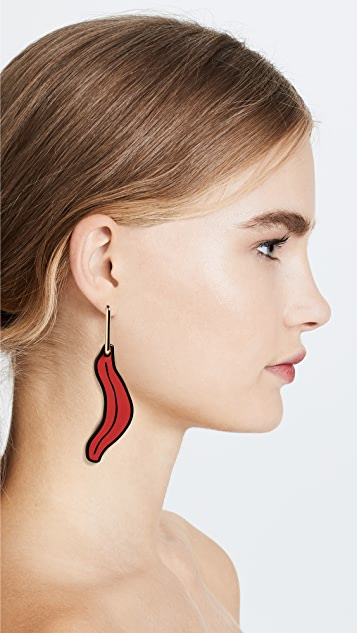 from marni n metal earring f earrings in the spring woman summer us hook