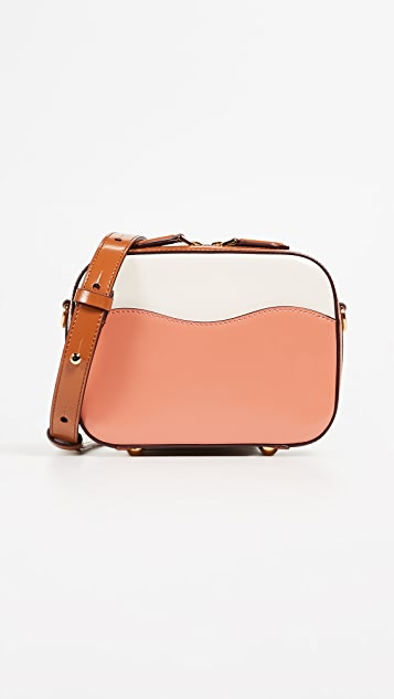 Marni Shell Shoulder Bag - Apricot/Silk